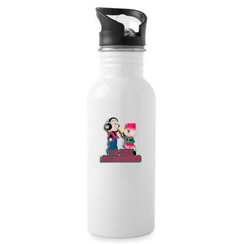 La voz silenciosa - Jose y Arpelio - Botella cantimplora con pajita integrada