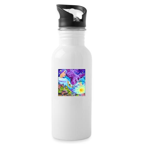 Magisk - Drikkeflaske med integreret sugerør