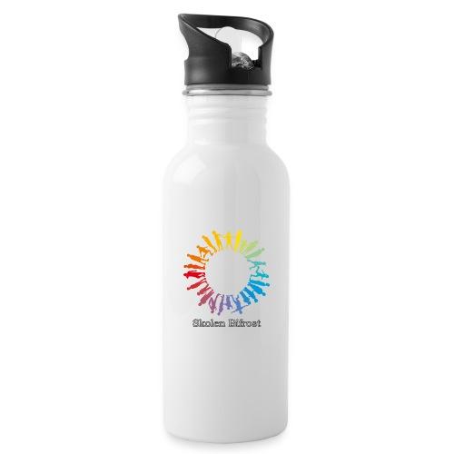 Skolen Bifrost - Drikkeflaske med integreret sugerør