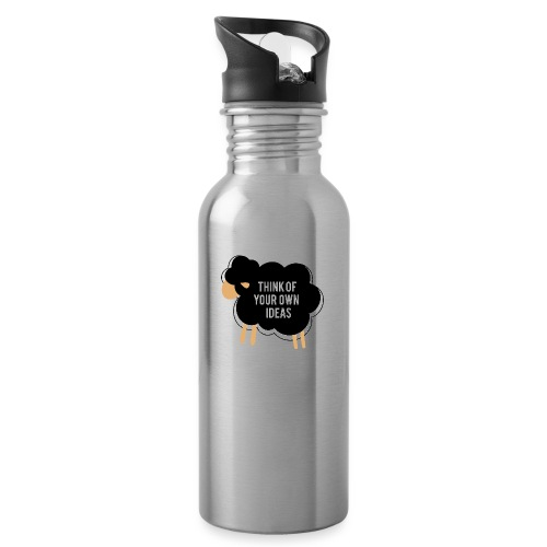 Think of your own idea! - Water bottle with straw