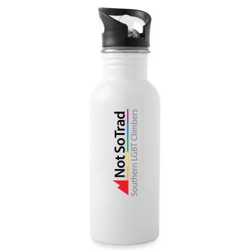 NST_Logo_WithStrap - Water bottle with straw