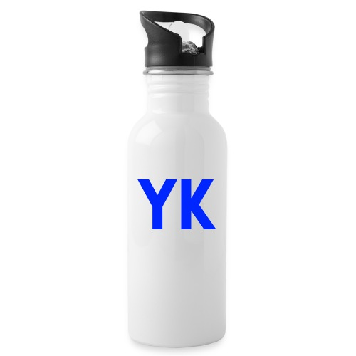 yk ontwerp png - Water bottle with straw