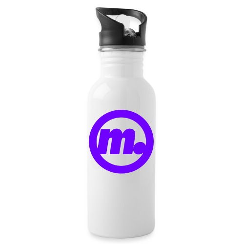 Mad Morloc - Water bottle with straw