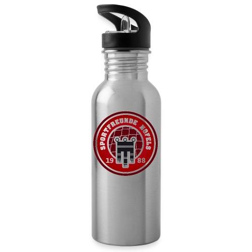 SFN Logo - Trinkflasche mit integriertem Trinkhalm