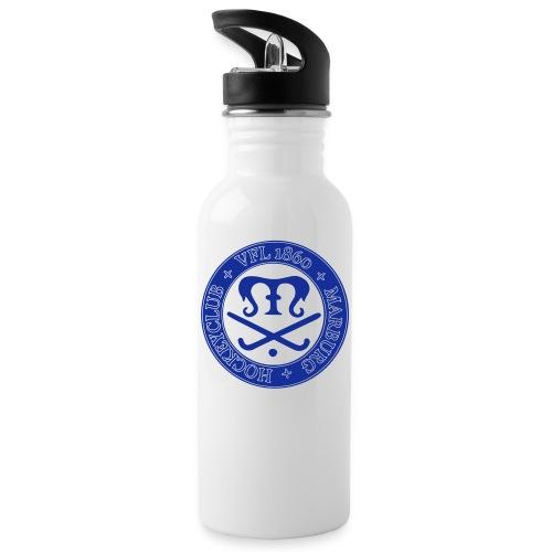 vfl wappen - Trinkflasche mit integriertem Trinkhalm