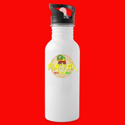 SÜEMTRIX FANSHOP - Trinkflasche mit integriertem Trinkhalm