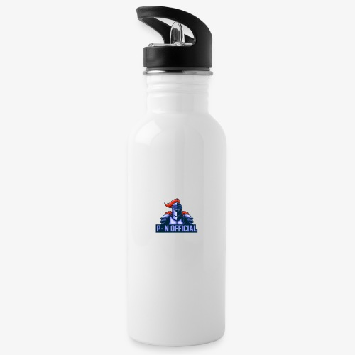 Platinum-Networks-Official-Gamer - Water bottle with straw