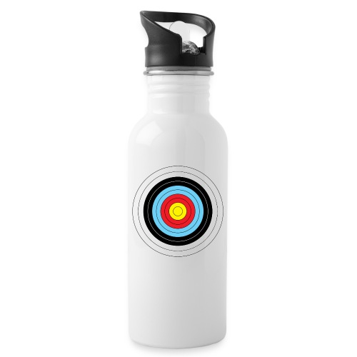 archery target new alpha - Water bottle with straw