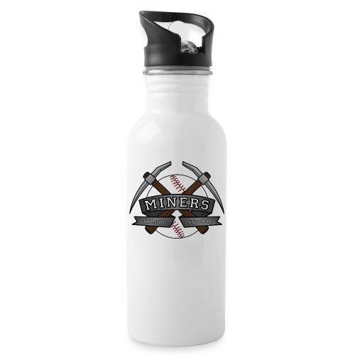 Miners ball noshaddow edit gif - Drikkeflaske med integrert sugerør