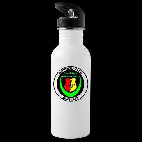 gc verein2 - Trinkflasche mit integriertem Trinkhalm