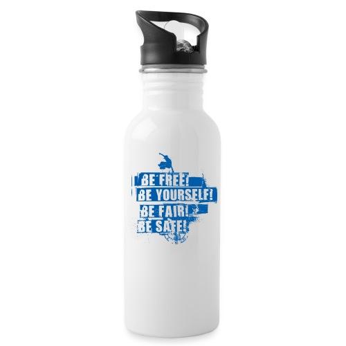 TBV Lemgo - Trinkflasche mit integriertem Trinkhalm