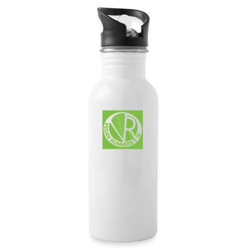 VeganRunners Logga jpg - Vattenflaska med integrerat sugrör