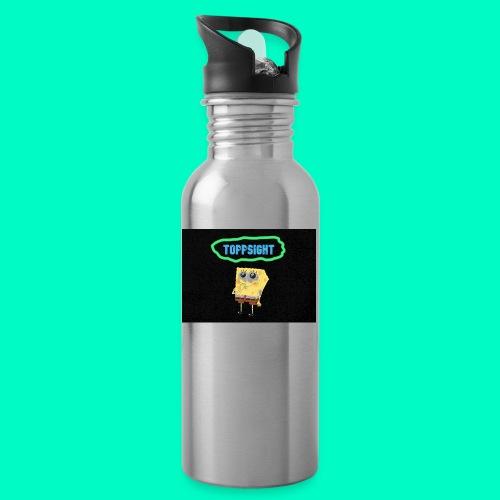 Topsight - Vattenflaska med integrerat sugrör