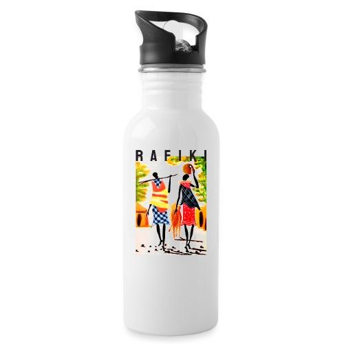 Sct Gemma – Rafiki = Friend - Drikkeflaske med integreret sugerør