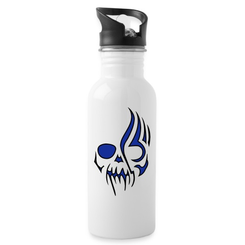 vektor shop - Trinkflasche mit integriertem Trinkhalm
