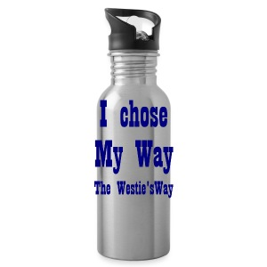 I chose My Way Navy - Water Bottle