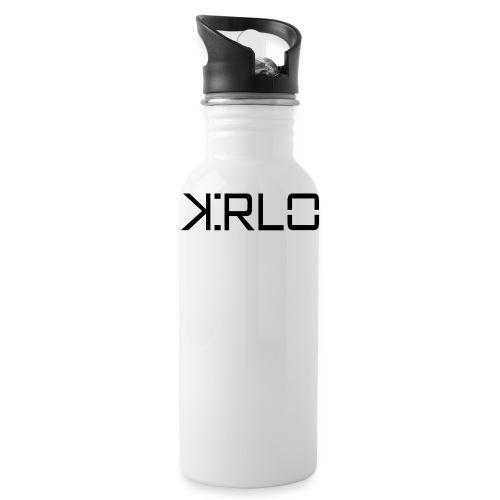 Kirlo Logotipo Negro - Cantimplora