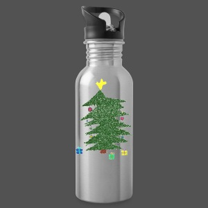 Christmas Kids-Drawing - Trinkflasche