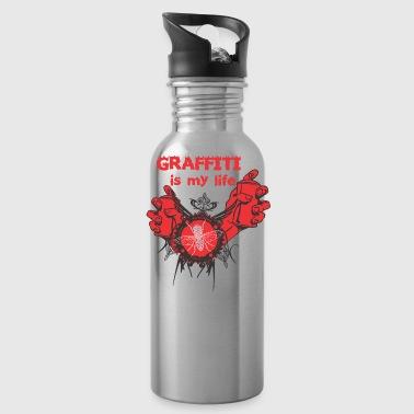 Graffiti ist mein Leben - Trinkflasche