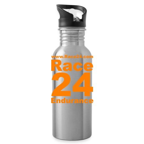 Race24 Logo in Orange - Water Bottle