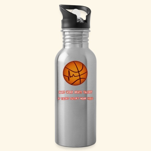Basketball - HARD WORK BEATS TALENT - Trinkflasche
