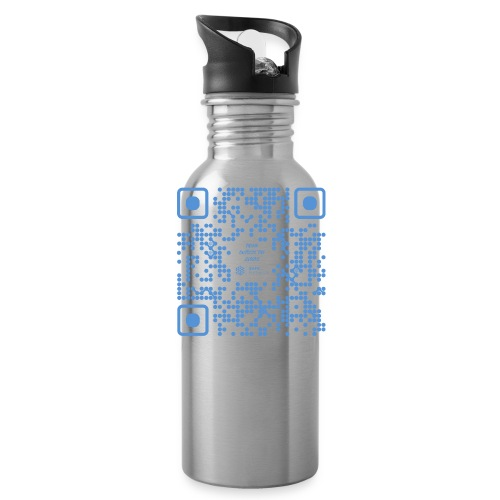 QR The New Internet Shouldn t Be Blockchain Based - Water Bottle