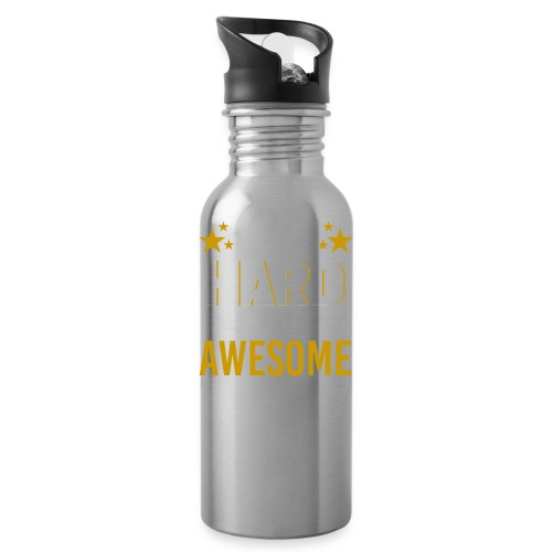 WORK HARD BE AWESOME - Trinkflasche