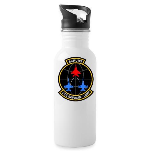 DCS Refugee Camp - Trinkflasche mit integriertem Trinkhalm