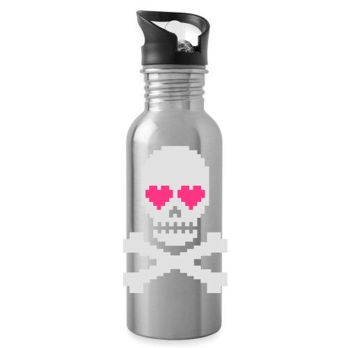 Skull Love - Drinkfles