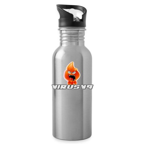Virusv9 Weiss - Trinkflasche