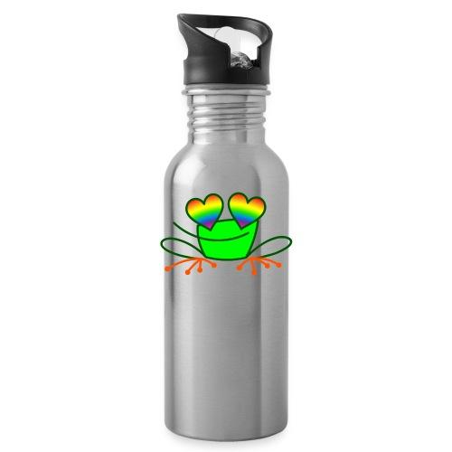 Pride Frog in Love - Water Bottle