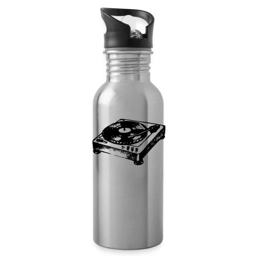 DJ Symbol Musik Musiker Party Disco - Trinkflasche