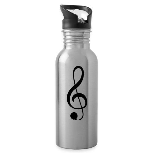 Musik Symbol Musikschlüssel Notenschlüssel - Trinkflasche
