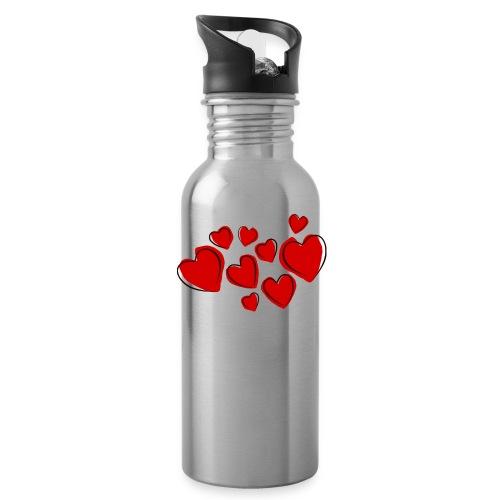 hearts herzen - Trinkflasche