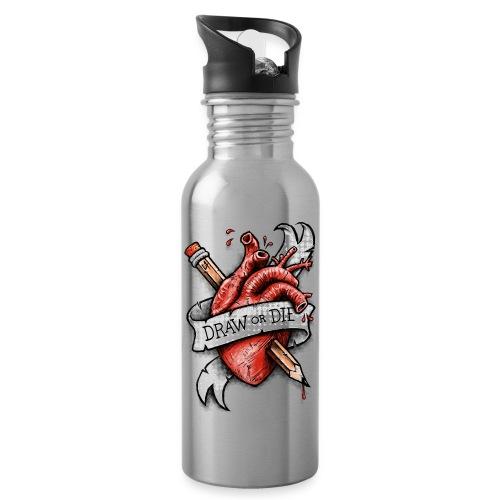 Draw or Die - Water Bottle