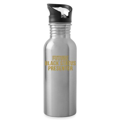 Future Black Status - Water Bottle