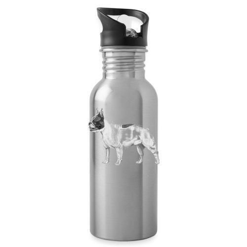 French Bulldog - Drikkeflaske