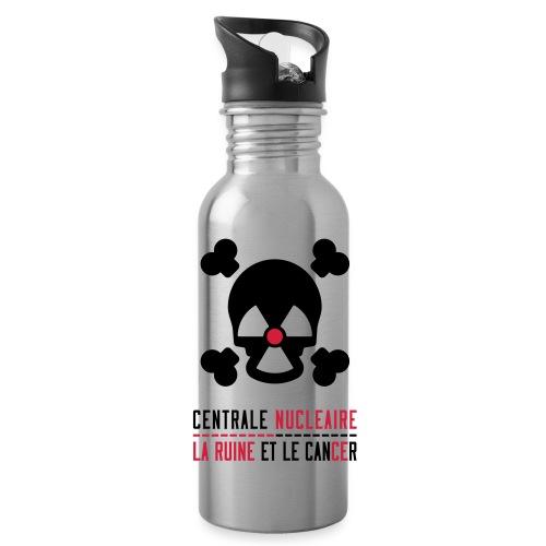 Centrale nucléaire - la ruine et le cancer - Gourde