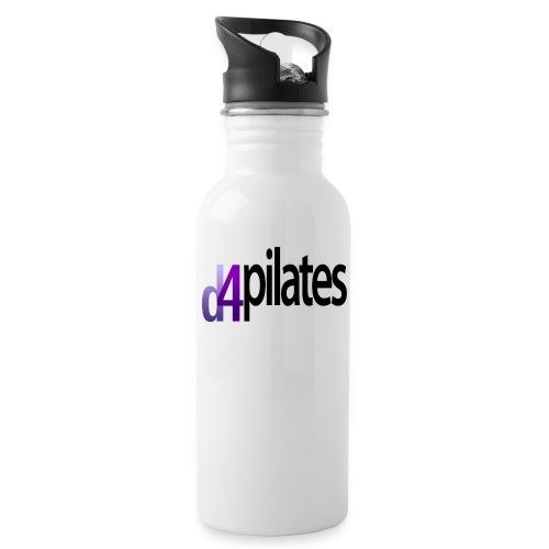 D4 Pilates - Black logo - Water Bottle