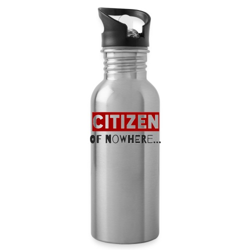 Citizen Of Nowhere 3 - Water Bottle