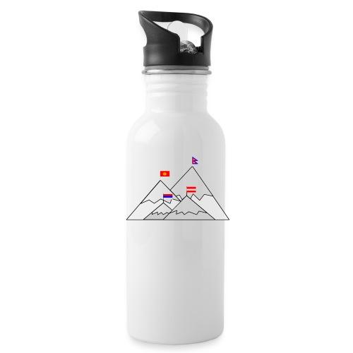 2018 W inter hash logo - Water Bottle