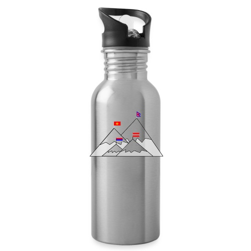 2018 W inter hash logo - Water Bottle