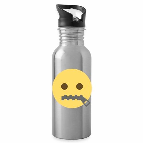 emoji bocca chiusa - Borraccia