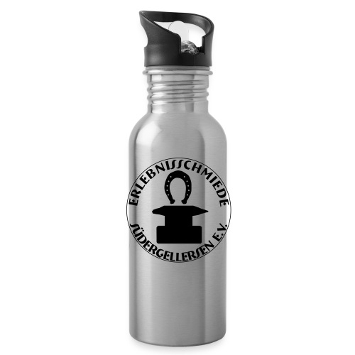 big erlebnisschmiedelogo - Trinkflasche