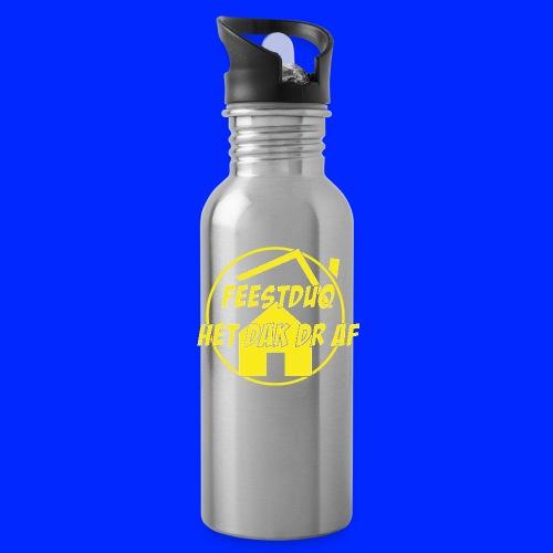Geel Logo - Drinkfles