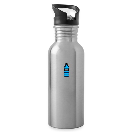 Bottlenet Tshirt Grijs - Drinkfles