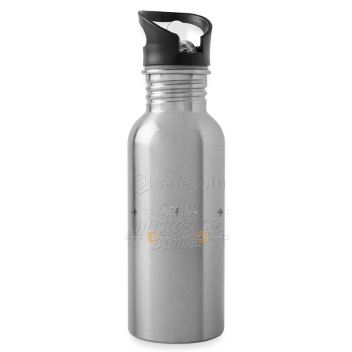 Safecoin Think Outside the Blocks (white) - Water Bottle