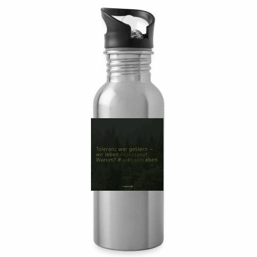 #weilbaum-T-Shirt Akzeptanz - Trinkflasche