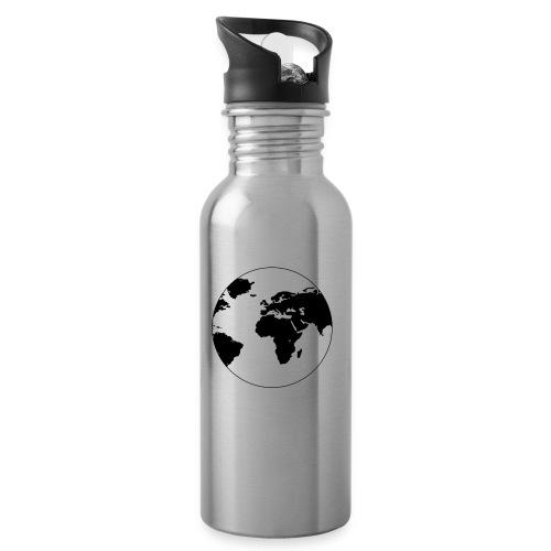 Cooles Design Erde - Trinkflasche