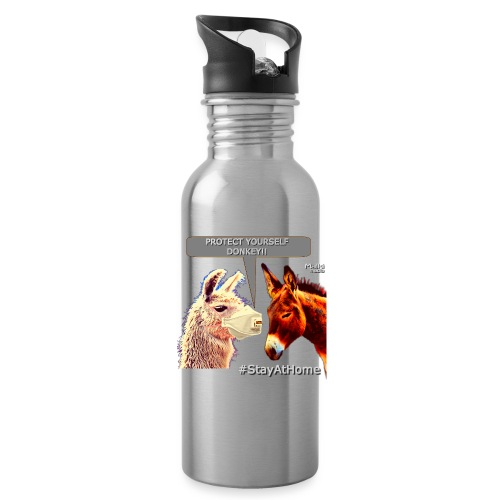 Protect Yourself Donkey - Coronavirus - Cantimplora